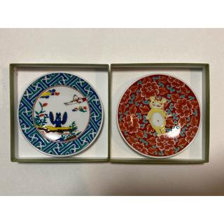 バンダイ(BANDAI)の【新品】ウルトラマン 九谷焼小皿2枚セット(赤絵牡丹豆皿と古九谷風)(陶芸)