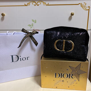 Christian Dior - ディオール ホリデークリスマスオファポーチ