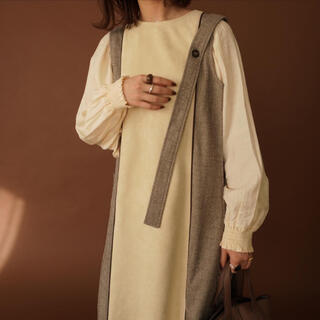 TODAYFUL - 【amuir】two-tone suede long vest