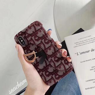 新品 ノーブランド iPhoneX iPhoneケース RED カバー 携帯