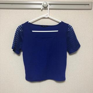 ワンウェイ(one*way)のトップス 半袖 ショート丈 ワンウェイ(Tシャツ(半袖/袖なし))