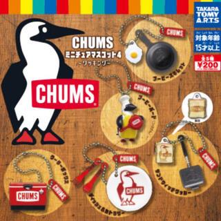 チャムス(CHUMS)のチャムス ガチャマスコット5個組(キャラクターグッズ)