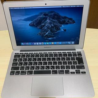 マック(Mac (Apple))のMacBook Air Early 2015 11インチ(ノートPC)