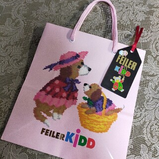 FEILER - 新品/未使用/美品 ヴィンテージ✦FEILER KiDD✦ paper bag