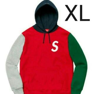シュプリーム(Supreme)のS Logo Colorblocked Hooded Sweatshirt(パーカー)