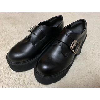 グレイル(GRL)のGRL/厚底ローファー23.5(ローファー/革靴)