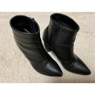 グレイル(GRL)のGRL/ショートブーツ23.5(ブーツ)