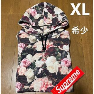 Supreme - 希少 XL 13SS Supreme PCL パーカー Power 花柄 薔薇