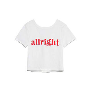 スナイデル(snidel)のバックデザインロゴトップス(Tシャツ(半袖/袖なし))