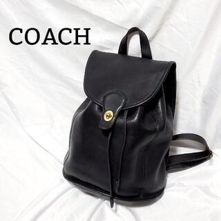 Wendy's & foot the coacher - 【美品】 COACH オールドコーチ リュック USA製 9943 ブラック