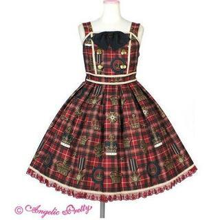 Angelic Pretty - Antique Crown ジャンパースカート☆AngelicPretty送コミ