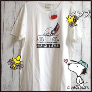 PEANUTS - スヌーピー Tシャツ メンズL