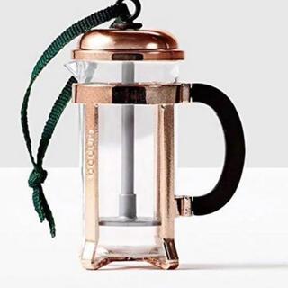 スターバックスコーヒー(Starbucks Coffee)のスターバックス クリスマス オーナメント コーヒープレス 北米限定(その他)