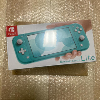 Nintendo Switch - 新品 未開封 任天堂 スイッチライト 本体 Switch Lite ターコイズ