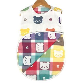 ベビースリーパー 赤ちゃん スリーパー おくるみ 布団 毛布 パジャマ3歳頃まで