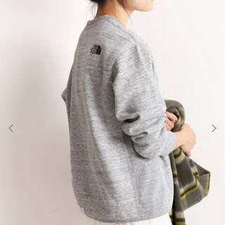 THE NORTH FACE - the  north face スクエアロゴスウェット slove iena