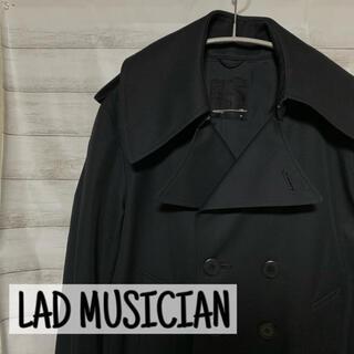 ラッドミュージシャン(LAD MUSICIAN)のLAD MUSICIAN(ラッドミュージシャン)11AW トレンチコート 黒(トレンチコート)