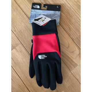 THE NORTH FACE - 新品未使用ノースフェイス L  赤黒タッチパネル対応 手袋 グローブ