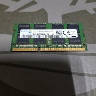 サムスン(SAMSUNG)の8GBメモリ Samsung(ノートPC)