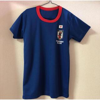バンダイ(BANDAI)のサッカー日本代表オフィシャルライセンスグッズ  半袖丸首シャツ 160cm(ウェア)