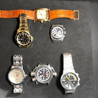 ノーブランド ジャンク腕時計 6本