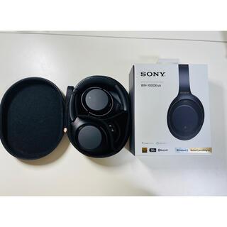ソニー(SONY)のSONY WH-1000XM3 ブラック (ヘッドフォン/イヤフォン)