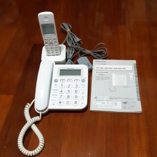 パイオニア(Pioneer)の早もの勝ち最終値げ不可!!【美品】pioneer電話機 (TF-SA15S-w)(その他)