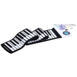 ロールピアノ 88鍵盤 ロールアップ 電子ピアノ ブルートゥース