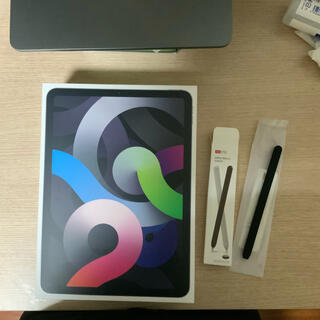 Apple - 美品 iPad air4 64GB wi-fiモデル スペースグレー