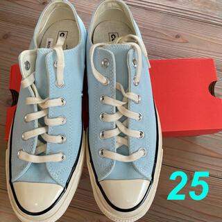CONVERSE - チャックテイラー 25 水色 コンバース アガットブルー ct70 水色