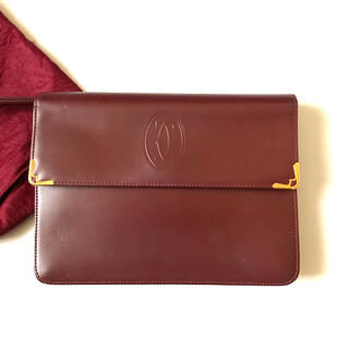Cartier - カルティエ マスト クラッチバッグ セカンドバッグ