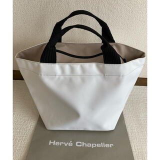 Herve Chapelier - 良品 エルベシャプリエ  1027 ブラン ナクル