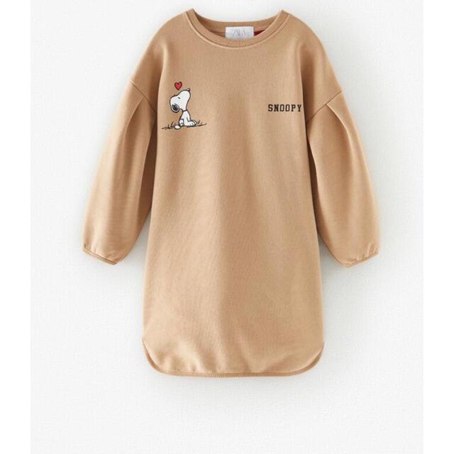 ZARA KIDS(ザラキッズ)のZARAKIDS  チュニックトレーナー キッズ/ベビー/マタニティのキッズ服女の子用(90cm~)(Tシャツ/カットソー)の商品写真