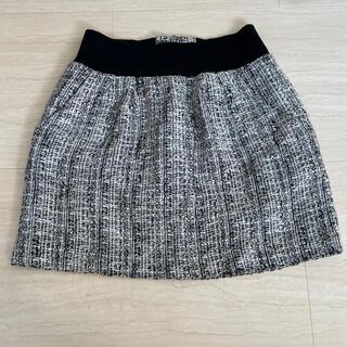 アンレリッシュ(UNRELISH)のUNRELISH ツイード ミニ スカート (ミニスカート)