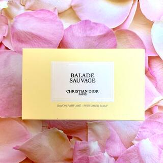 Dior - メゾンクリスチャンディオール ソープ 「BALADE SAUVAGE」