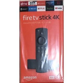 新品未開封 fire tv stick 4k  Alexa対応音声認識リモコン付