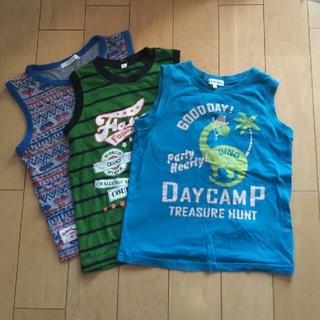 サンカンシオン(3can4on)の120センチ ノースリーブTシャツ(Tシャツ/カットソー)