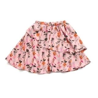 エフオーキッズ(F.O.KIDS)のaprs les cours アプレレクール F.O. 花柄 スカート 130(スカート)