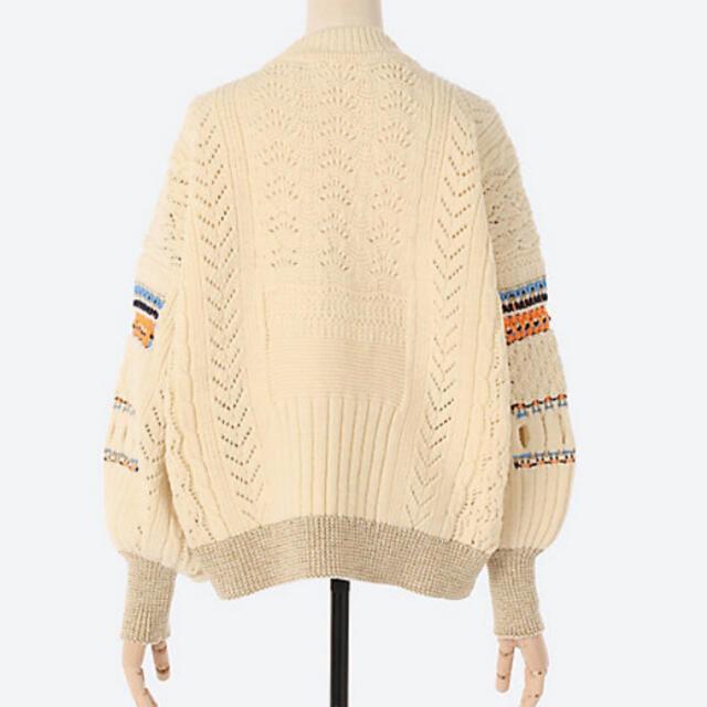 mame(マメ)の10日終mame kurogouchiマメクロゴウチmamekurogouchi レディースのトップス(ニット/セーター)の商品写真