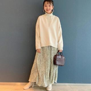 LOWRYS FARM - 新品タグ付き★ローリーズファーム★アニマルプリーツスカート★税込5,500円