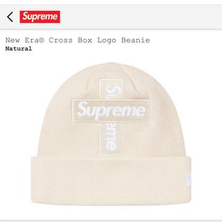 Supreme - SUPREME  New Era® Cross Box Logo Beanie