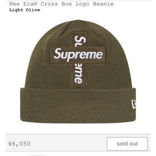 シュプリーム(Supreme)のニット帽 supreme cross box logo beanie(ニット帽/ビーニー)