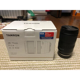 TAMRON - TAMRON 28-75mm F2.8 Di III RXD ソニーEマウント