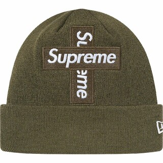 シュプリーム(Supreme)のSupreme NewEraCrossBoxLogoBeanie(ニット帽/ビーニー)