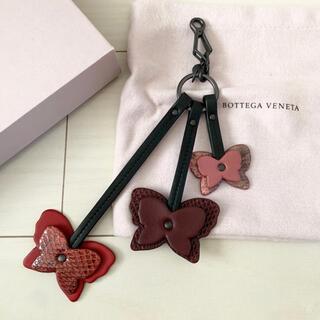 ボッテガヴェネタ(Bottega Veneta)のBOTTEGA VENETA バタフライ バッグ チャーム パイソン(その他)