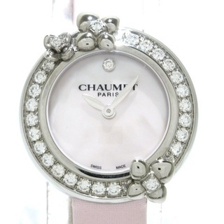 ショーメ(CHAUMET)のショーメ 腕時計 オルタンシア W84253-001(腕時計)