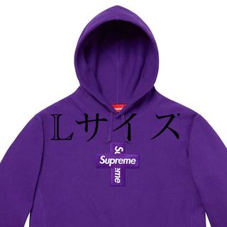 シュプリーム(Supreme)のsupreme Cross Box Logo Hooded Sweatshirt(スウェット)