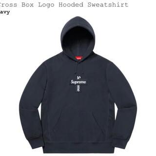 シュプリーム(Supreme)のSupreme box logo cross hooded シュプリーム(パーカー)