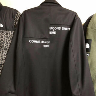 シュプリーム(Supreme)のsupreme comme de garçon wool over coat(チェスターコート)