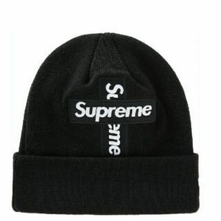Supreme - Supreme New Era Cross Box Logo Beanie 黒